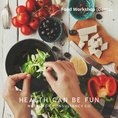 3 Meals a Day – Food Demo Workshop